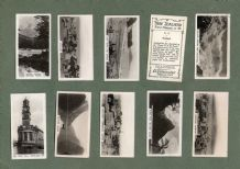 Collctable Tobacco cigarette cards photographic set New Zealand 1928